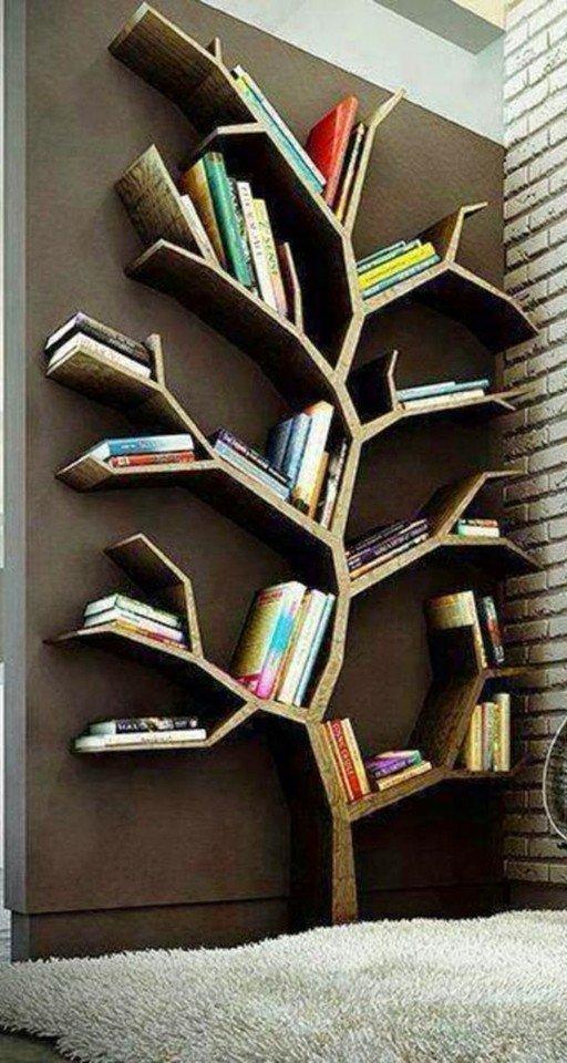 Книжное дерево своими руками фото