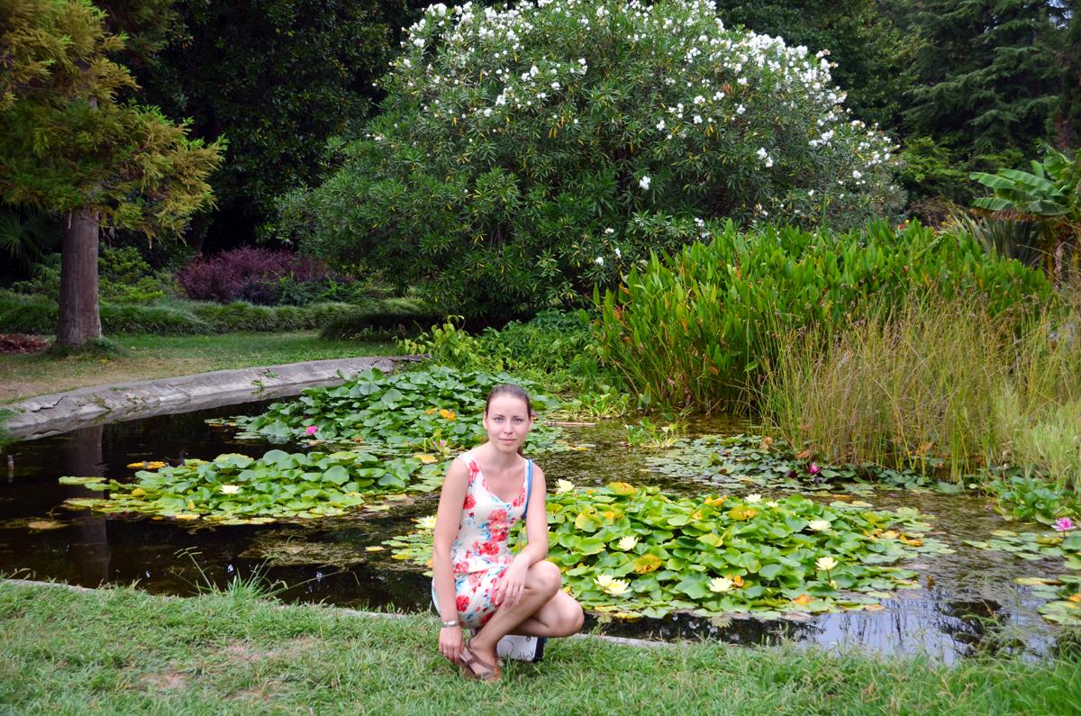 10. Парк разделён на секции, в которых есть пруды и собраны группами определённые растения.
