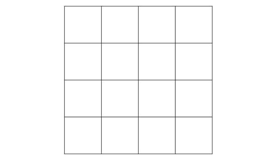 очень тест сколько вы видите квадратов на картинке такой