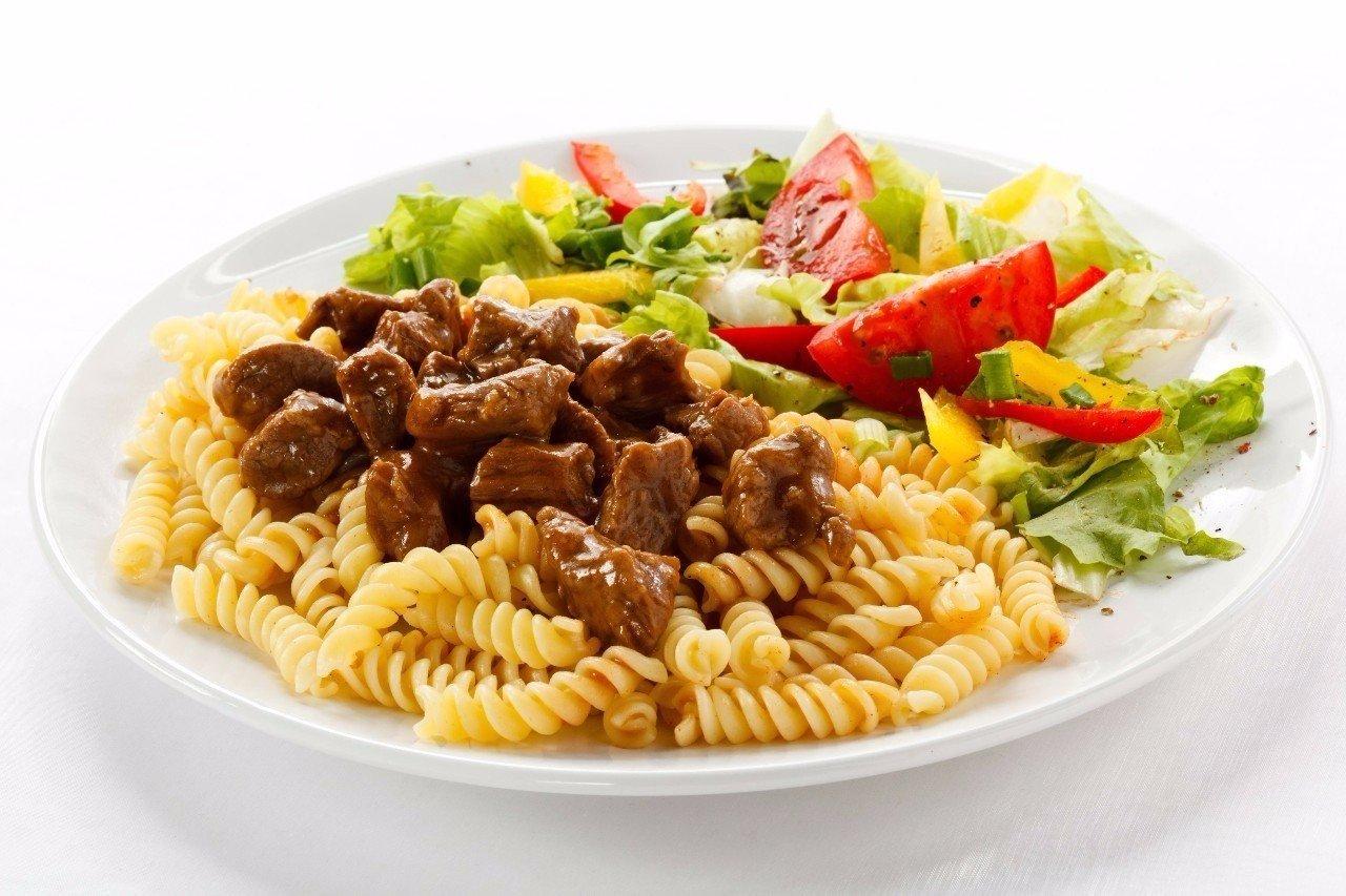 Открытки макароны с мясом, праздником николая