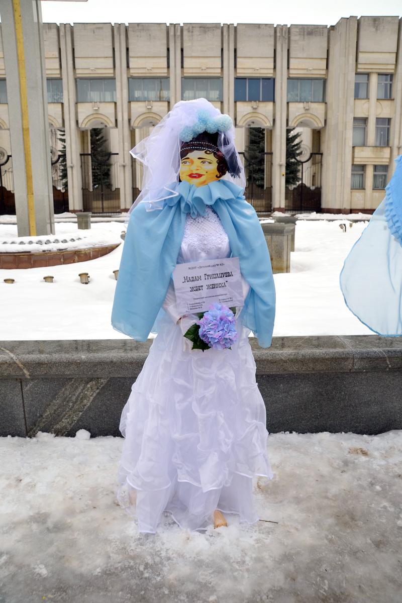 6. Очень популярным персонажем оказалась мадам Грицацуева. Встречались часто и Остапы Бендеры.