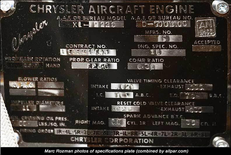 Валы. колеса и полусферы. Chrysler IV-2220. Небольшое дополнение